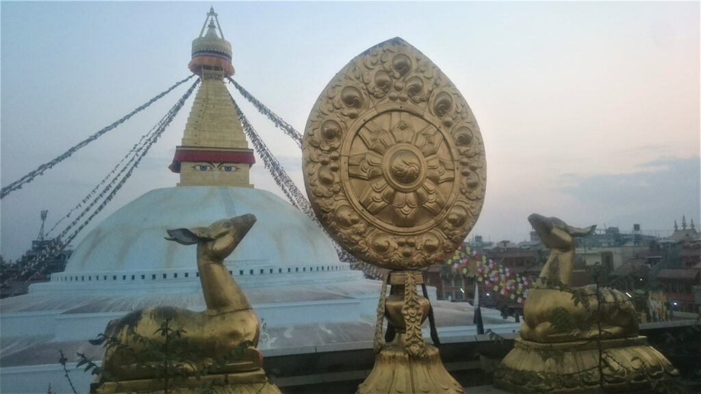 Stupa as cultural heritage